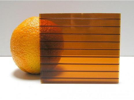 Коричневый сотовый поликарбонат 4,0 мм