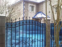 Синий сотовый поликарбонат 6,0 мм_2