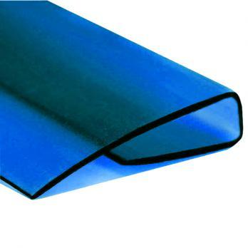Синий торцевой профиль