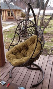 Подвесное кресло «Овал»