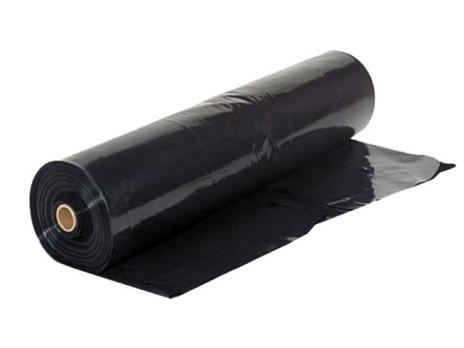 Чёрная плёнка для мульчирования, фото 1