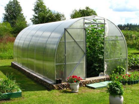 Прозрачный сотовый поликарбонат 3,5 мм «Покров», варианты применения 2
