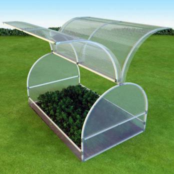 Прозрачный сотовый поликарбонат 4,0 мм «Агро», варианты применения 3