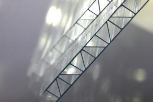 Прозрачный сотовый поликарбонат 6,0 мм «Усиленный», варианты применения 2
