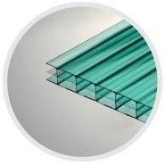 Зелёный сотовый поликарбонат 6,0 мм_0