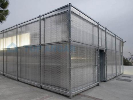 Прозрачный сотовый поликарбонат 8,0 мм, варианты применения 5