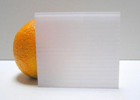 Молочный сотовый поликарбонат 8,0 мм, варианты применения 2