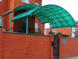 Зелёный сотовый поликарбонат 10,0 мм_3