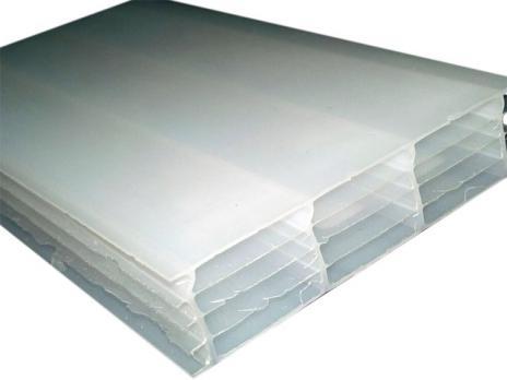 Молочный сотовый поликарбонат 16,0 мм, варианты применения 3