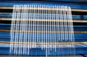 Прозрачный профилированный поликарбонат 0,8 мм_1