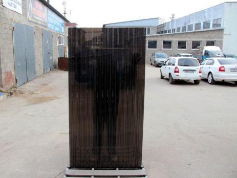 Бронзовый профилированный поликарбонат 1,3 мм, вариант применения 2