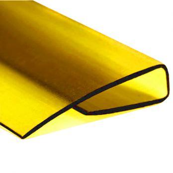 Жёлтый торцевой профиль