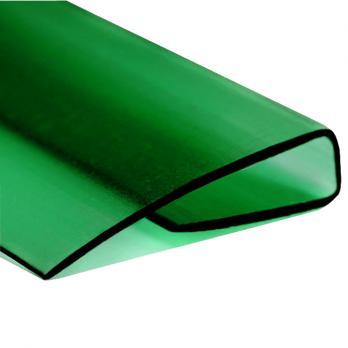 Зелёный торцевой профиль