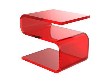 Красное оргстекло, варианты применения 2