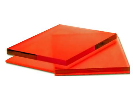 Оранжевое оргстекло, варианты применения 1