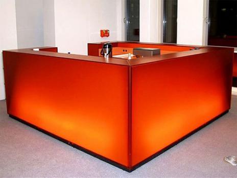 Оранжевое оргстекло, варианты применения 5