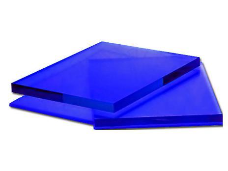 Синее оргстекло, варианты применения 1