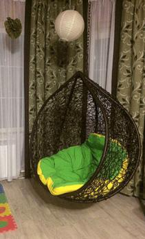 Подвесное кресло «Капля», фото 3