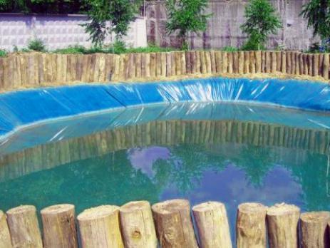 Плёнка для водоёмов «Водяной», вариант применения 3